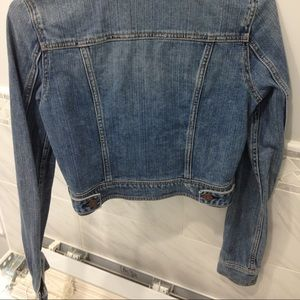 American Eagle Outfitters Jackets & Coats - aeo medium wash cropped jean jacket
